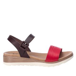 XTi Dámske sandále Red Pu Ladies Sandals 49846 Red 39 dámské