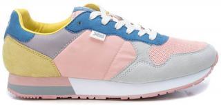 XTi Dámske tenisky Pink - Grey Textile Ladies Shoes 49820 Pink - Grey 37 dámské