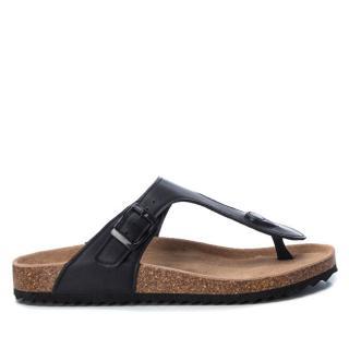 XTi Dámske žabky Black Pu Ladies Sandals 34284 Black 39 dámské