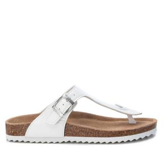 XTi Dámske žabky White Pu Ladies Sandals 34284 White 38 dámské