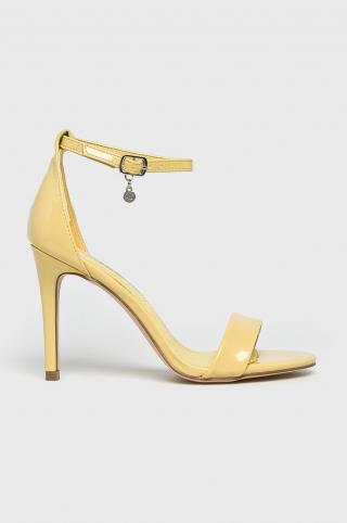 XTI - Sandále dámské žltá 38