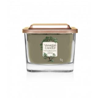 Yankee Candle Aromatická sviečka malá hranatá Vetiver & Black Cypress 96 g
