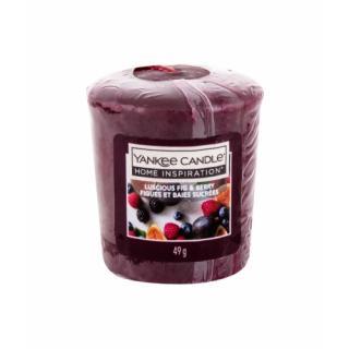 Yankee Candle Luscious Fig & Berry 49 g vonná sviečka unisex 49 g