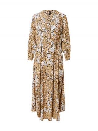 Y.A.S Košeľové šaty Como  zmiešané farby / béžová dámské 34