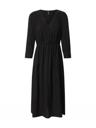 Y.A.S Košeľové šaty HONGA  čierna dámské 36