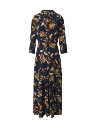 Y.A.S Košeľové šaty Savanna  čierna / zmiešané farby dámské 34