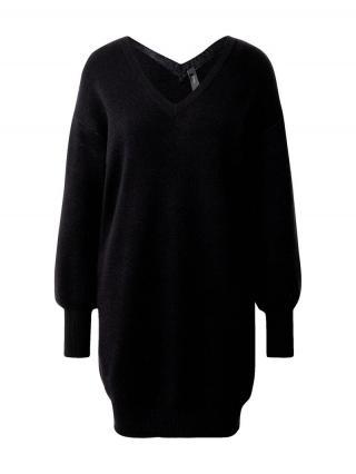 Y.A.S Pletené šaty Bridie  čierna dámské XS