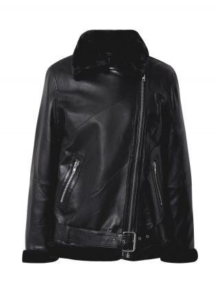 Y.A.S Prechodná bunda Salva  čierna dámské XS