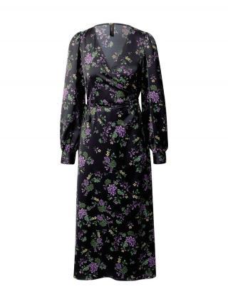 Y.A.S Šaty Lauren  čierna / zmiešané farby dámské 40