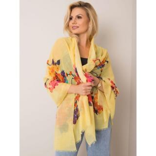 Yellow flower scarf dámské Neurčeno One size