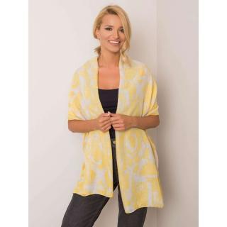 Yellow viscose scarf dámské Neurčeno One size