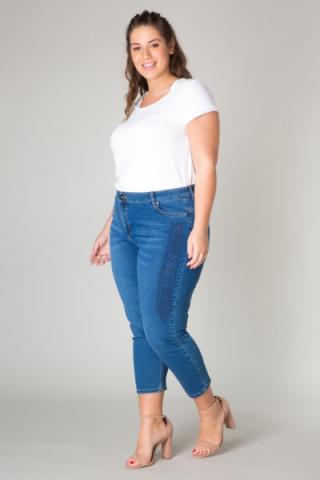 Yesta modré džínsy - 52 dámské modrá 52