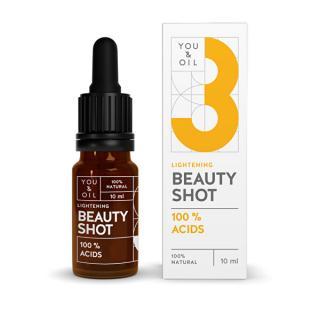 You & Oil You & Oil Beauty Shot 100% Acids 10 ml -ZĽAVA KRÁTKA EXPIRÁCIA 31.12.2021