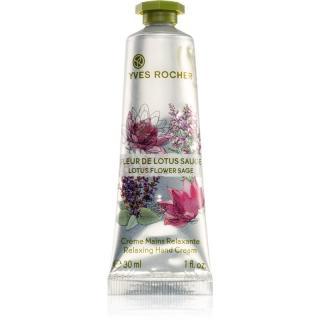 Yves Rocher Lotus Flower Sage relaxačný krém na ruky 30 ml dámské 30 ml