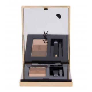 Yves Saint Laurent Couture Brow Palette 3,8 g set a paletka na obočie pre ženy 1 Light To Medium dámské 3,8 g