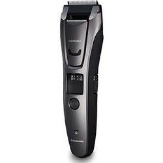 Zastrihávač fúzov, zastrihávač vlasov, zastrihávač ochlpenia Panasonic omývateľný, strieborná, čierna