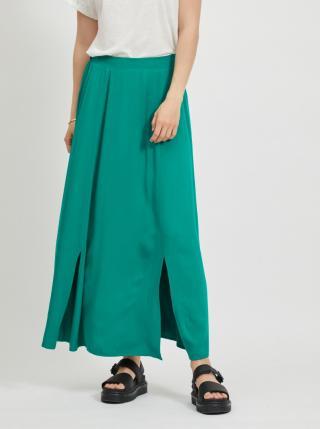 Zelená maxi sukňa VILA Suvita dámské M
