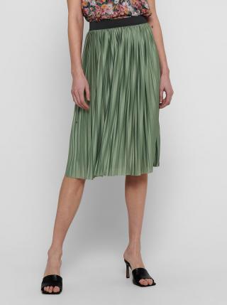 Zelená plisovaná sukňa Jacqueline de Yong Boa dámské L