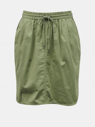 Zelená sukňa s vreckami ZOOT Baseline Otelia dámské XS