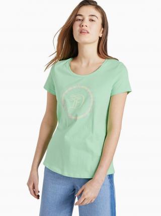 Zelené dámske tričko Tom Tailor Denim dámské zelená L