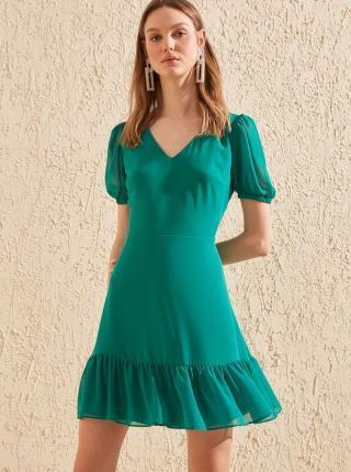 Zelené šaty Trendyol - XL dámské zelená XL