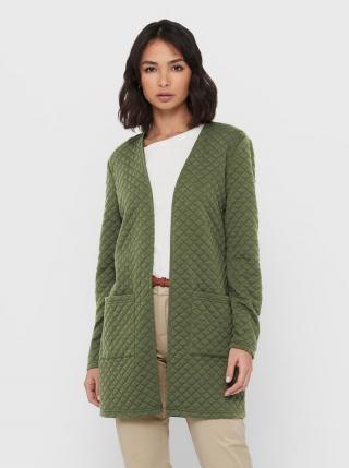 Zelený ľahký kabát Jacqueline de Yong Napa dámské zelená M