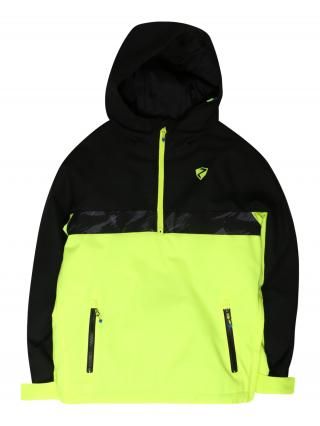 ZIENER Športová bunda ABSALOM  čierna / žltá dámské 152