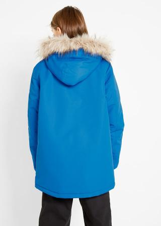 Zimná bunda s kapucňou pánské modrá 128/134,140/146,152/158,164/170,176/182