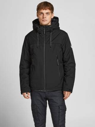 Zimné bundy pre mužov Jack & Jones - čierna pánské S