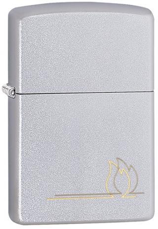 Zippo Benzínový zapaľovač Flame Design 20446