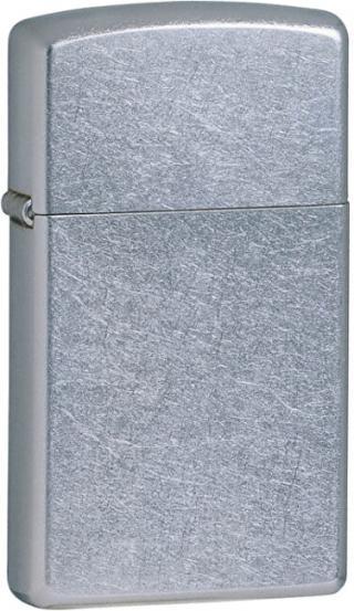 Zippo Benzínový zapaľovač Slim® Street Chrome™ 25074