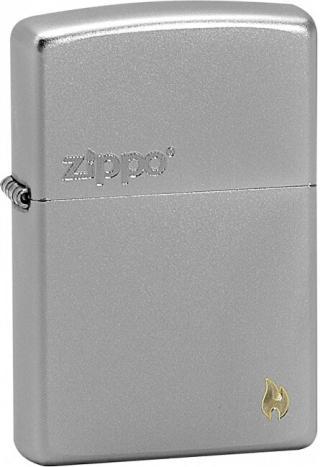 Zippo Benzínový zapaľovač Zippo and Flame 20946