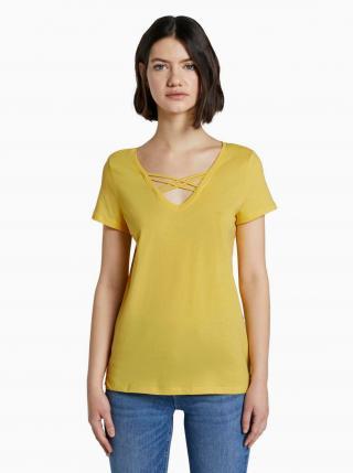 Žlté dámske tričko Tom Tailor Denim dámské žltá S