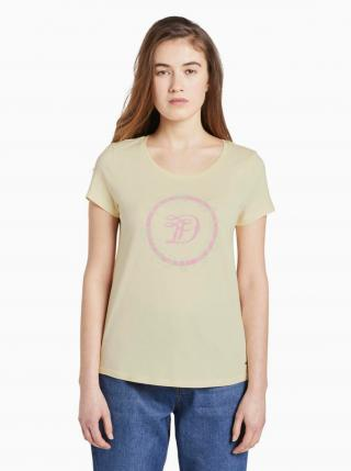 Žlté dámske tričko Tom Tailor Denim dámské žltá XS
