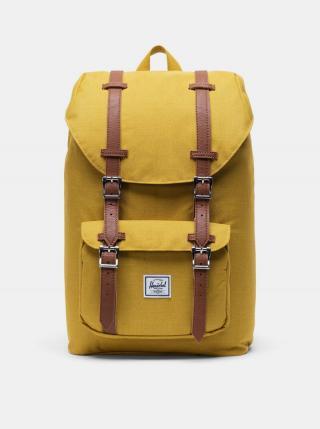 Žltý batoh Herschel Supply pánské žltá