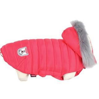 Zolux Oblečenie prešívaná bunda pre psov URBAN červená 45 cm