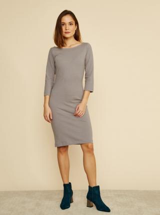 ZOOT Baseline sivé puzdrové šaty Polli - XS dámské sivá XS